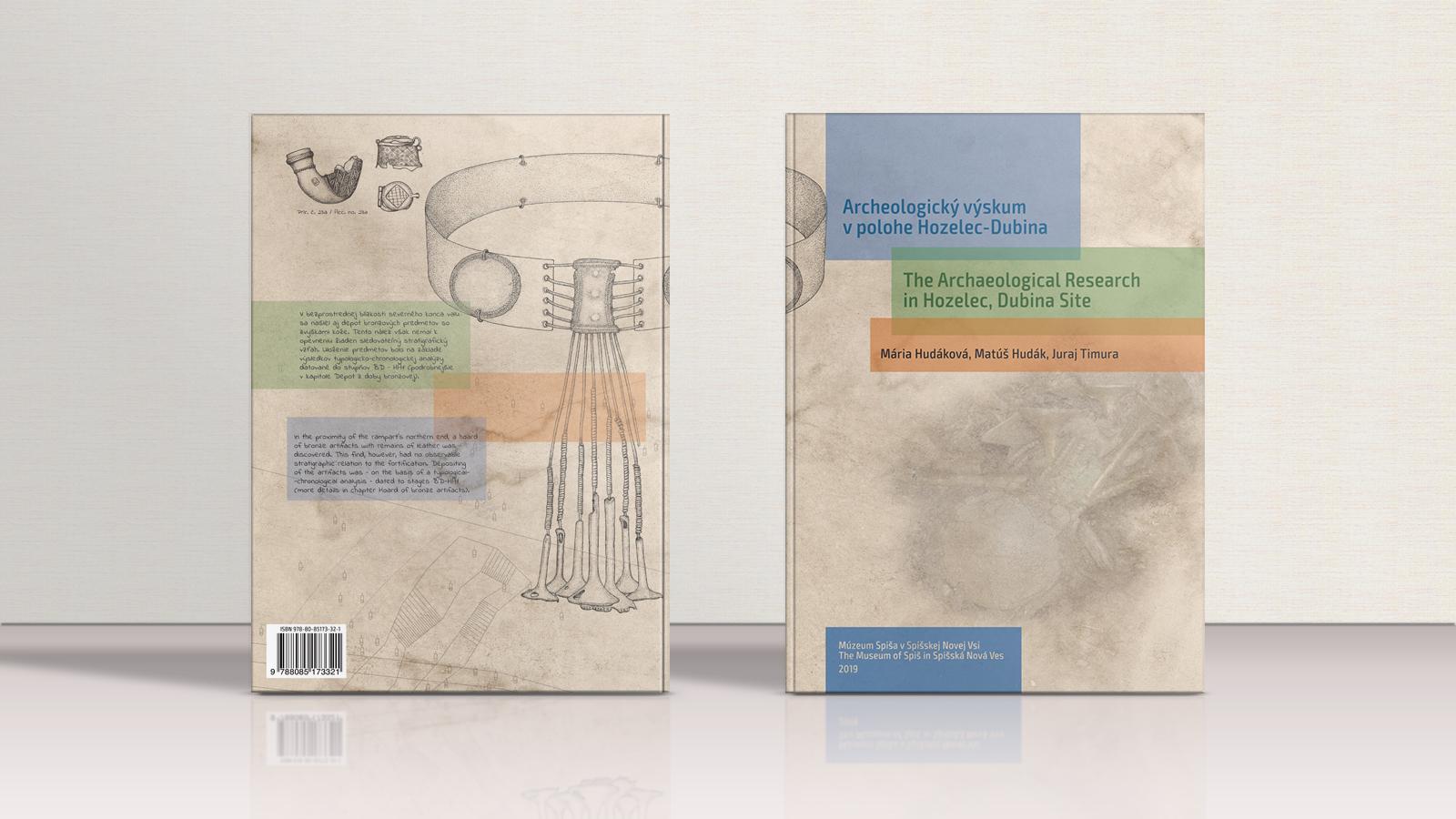 Obálka knihy Archeologický výskum v polohe Hozelec-Dubina